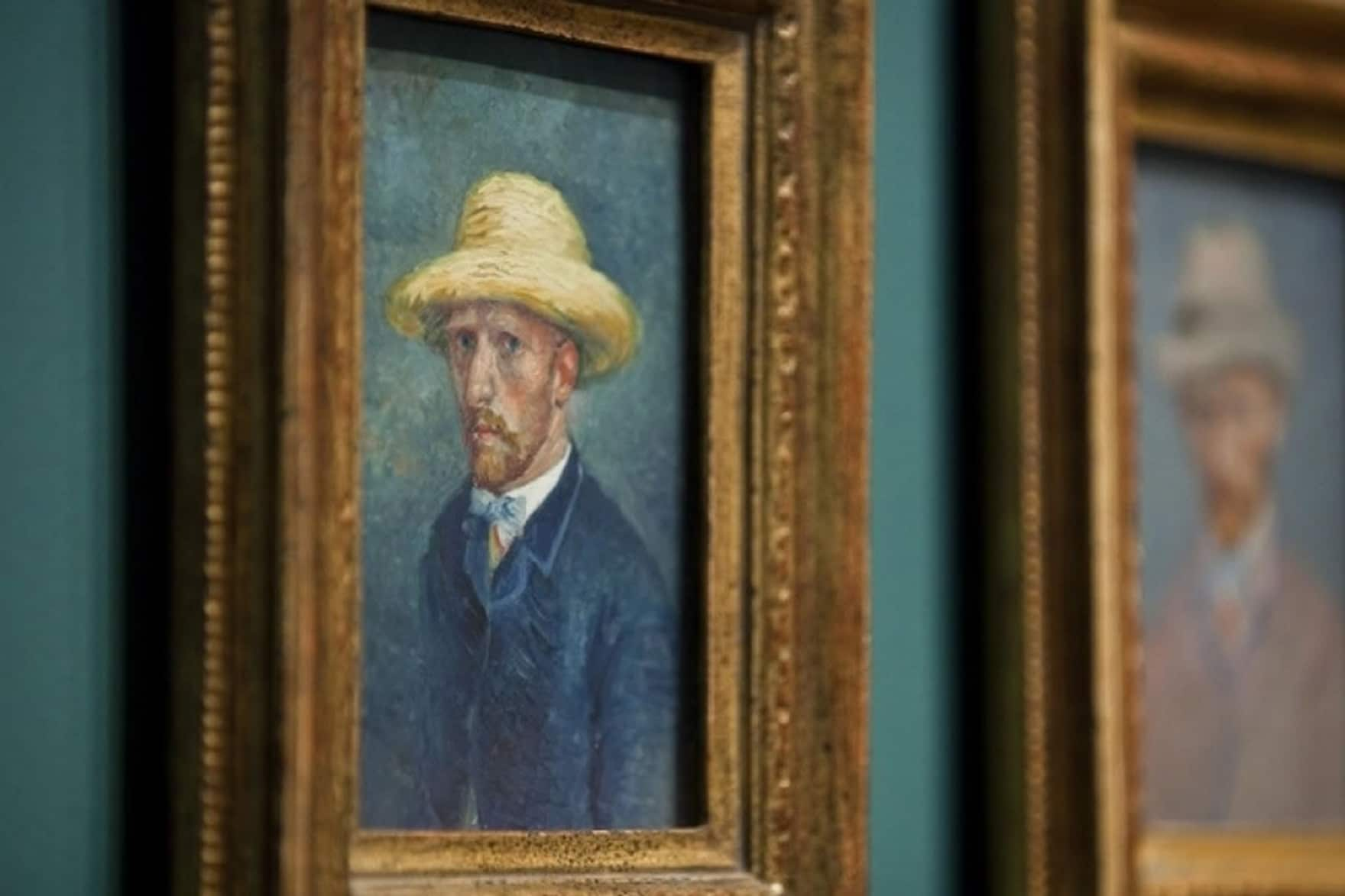Experience Vincent van Gogh selfportait