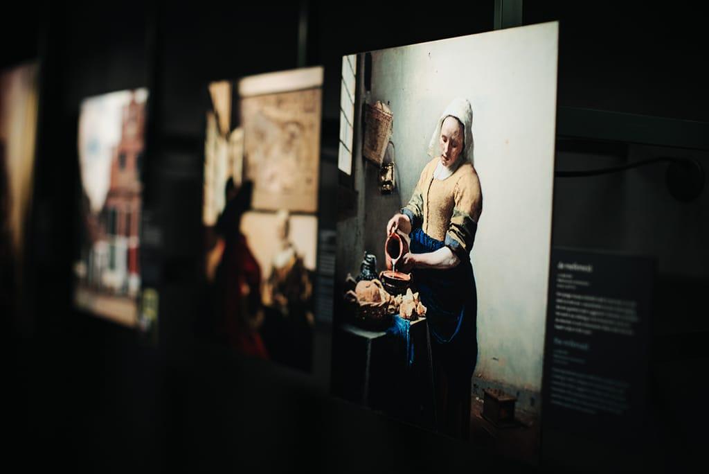 Johannes Vermeer in Delft