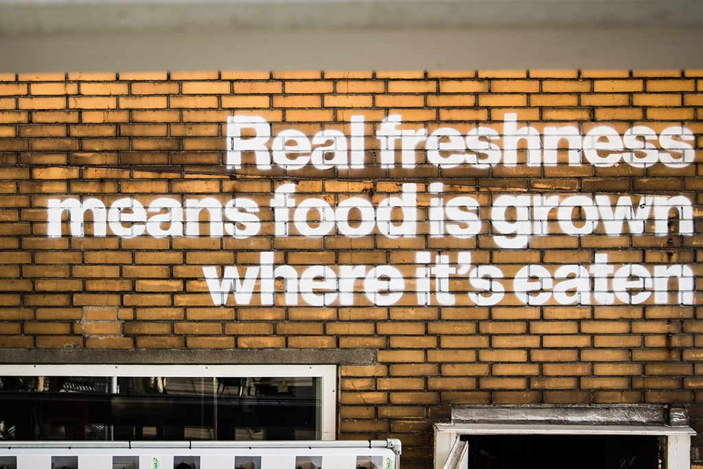 Urban Farmer quote