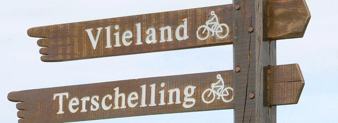 Dreamweekend Mick cycling the Wadden Islands