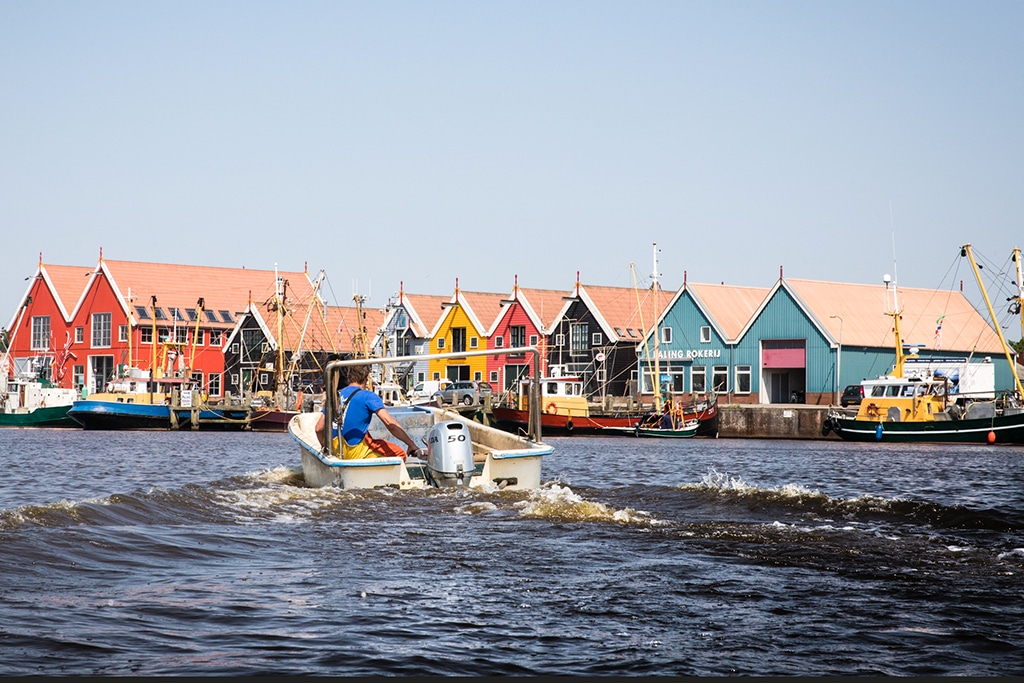 The picturesque old fishing village Zoutkamp