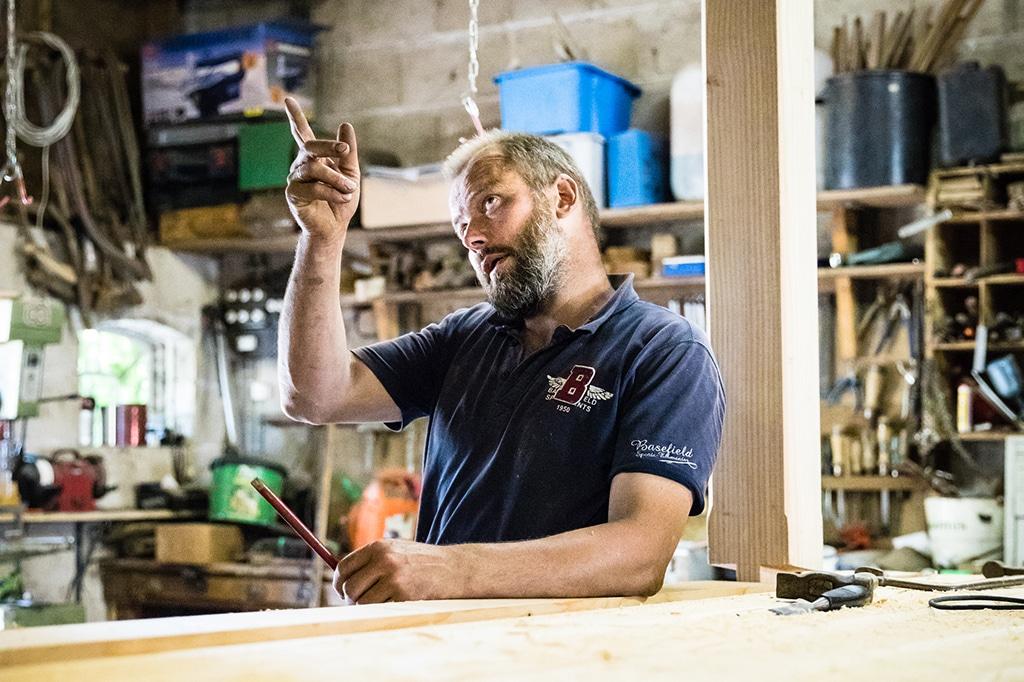 Local Staphorst carpenter