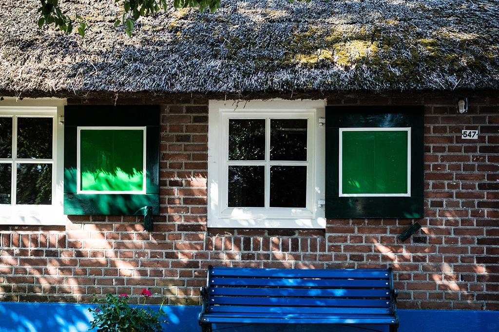 The traditional colours of Staphorst