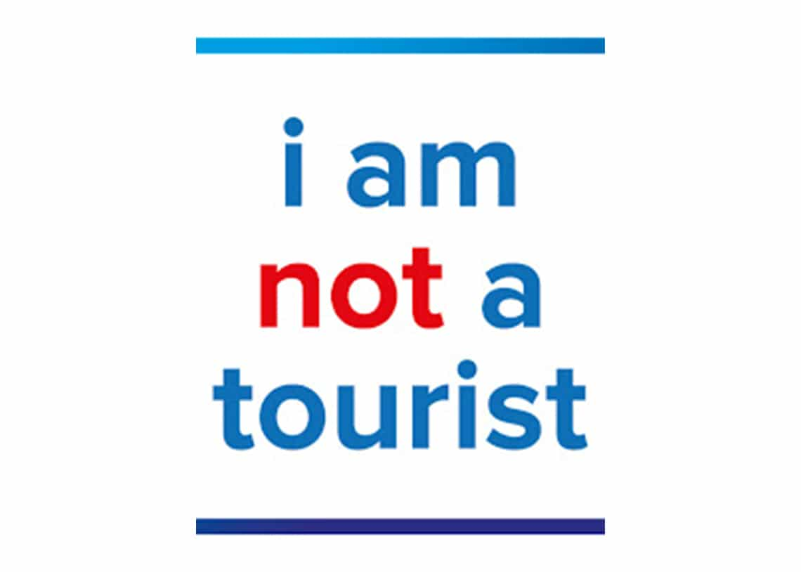 i am not a tourist Expat Fair, Sunday 6 October 2019 in Amsterdam